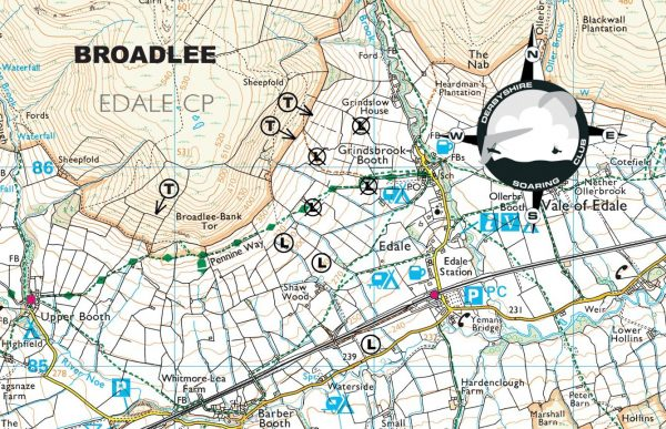 Map of Broadlee Bank